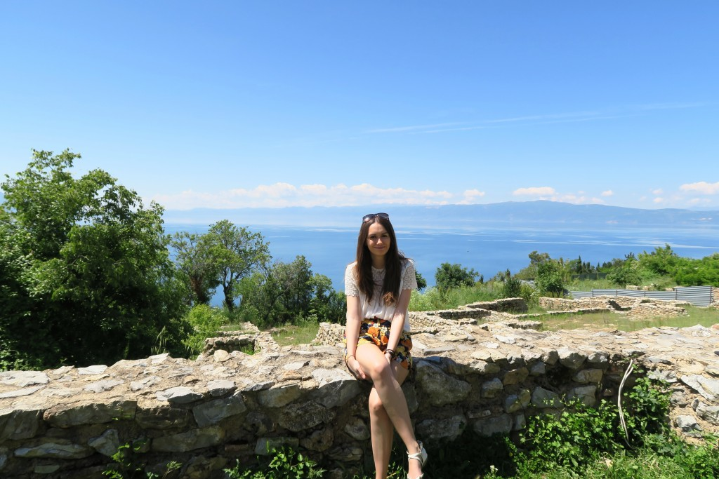 Macedonia Ohrid Wall