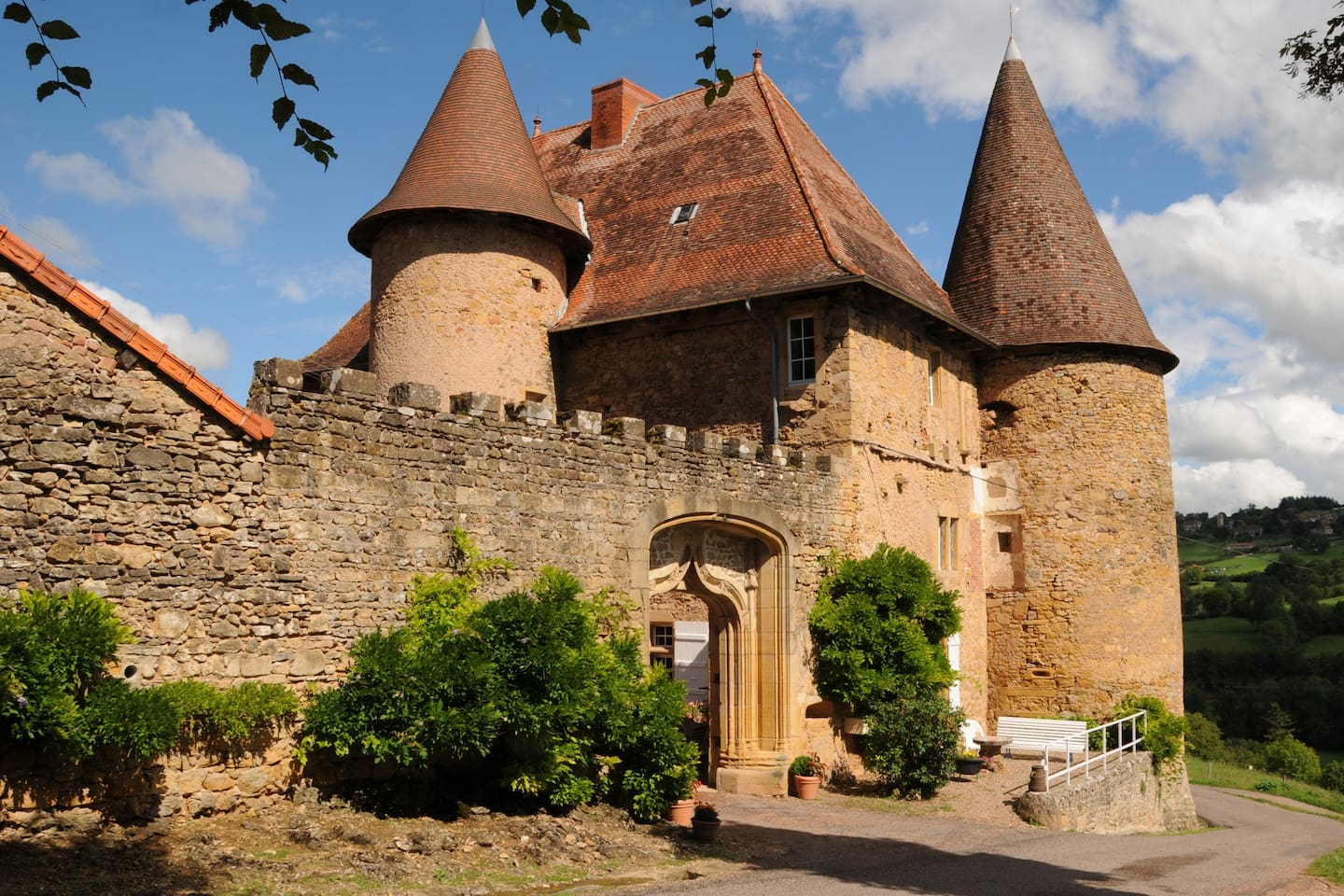 Small Turret Castle France