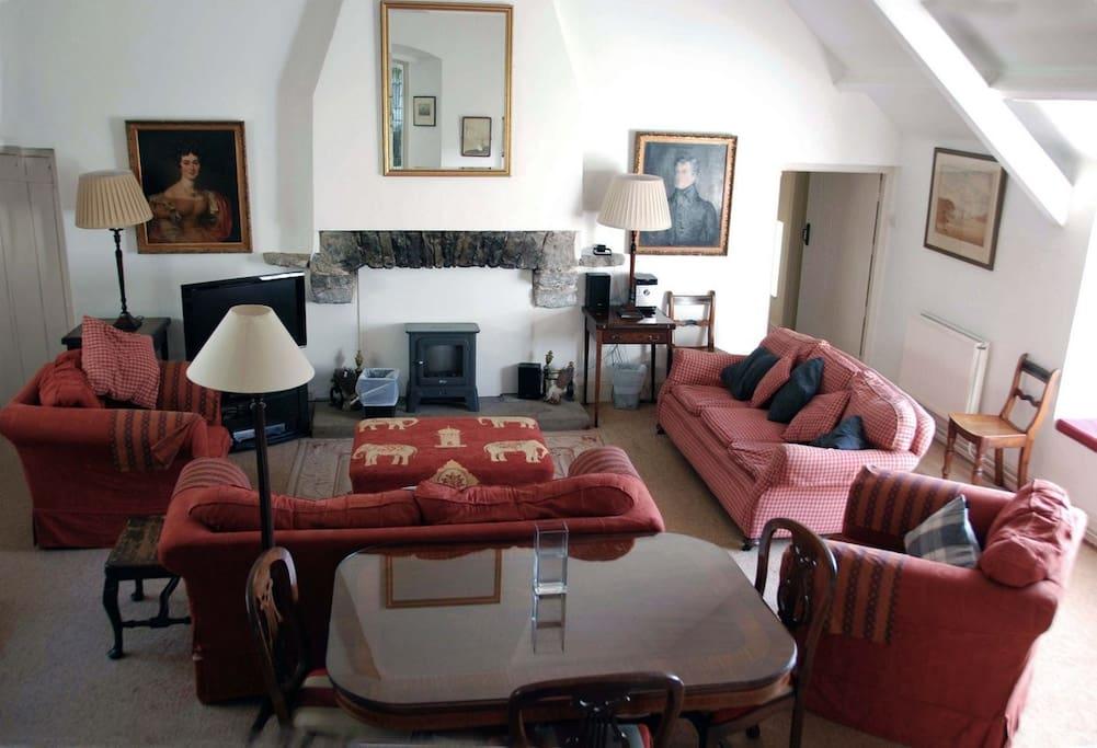 Wales Castle Interior