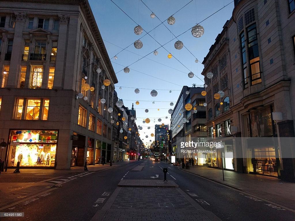 London Oxford Street Lights