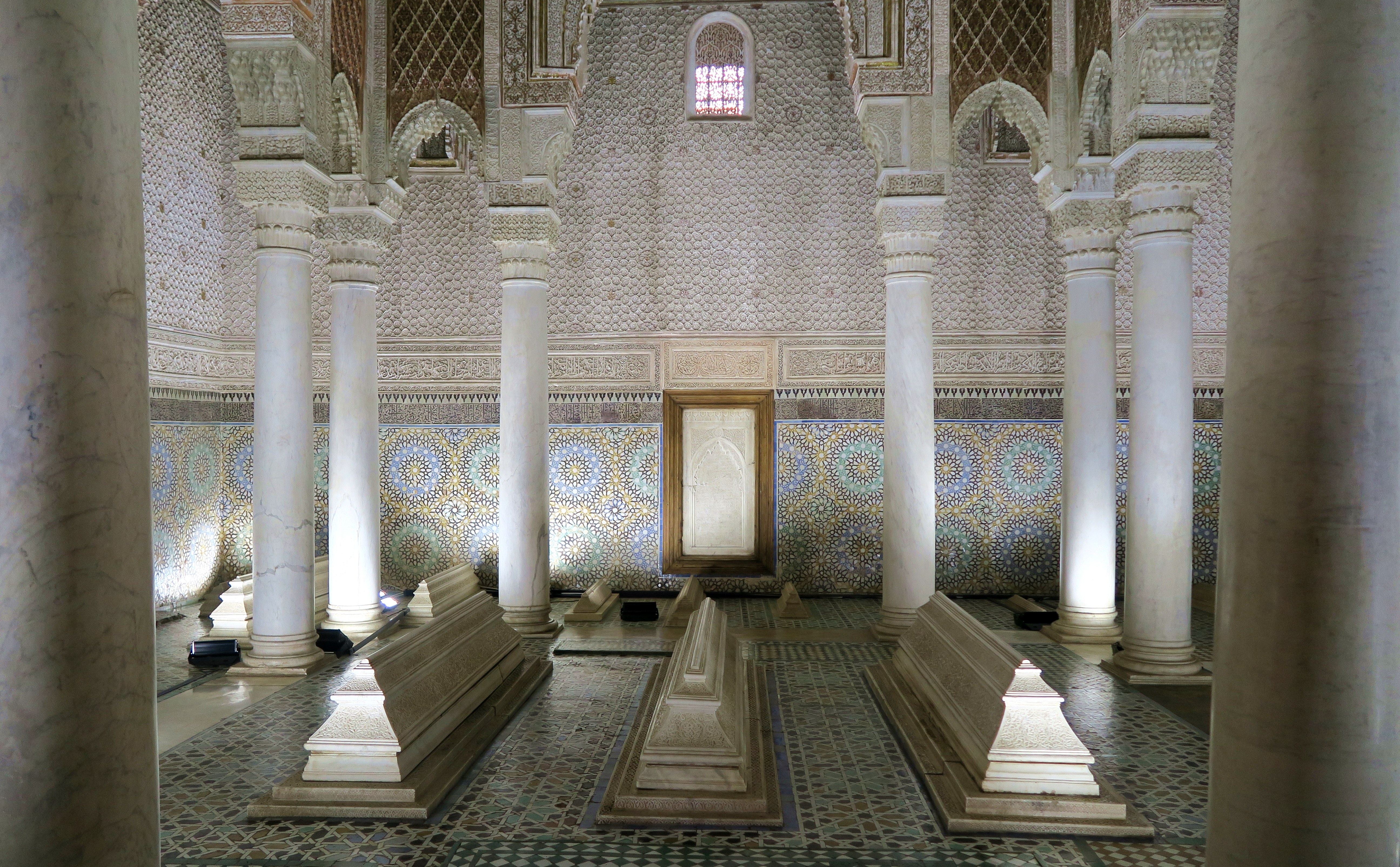 Marrakech Tombs Interior