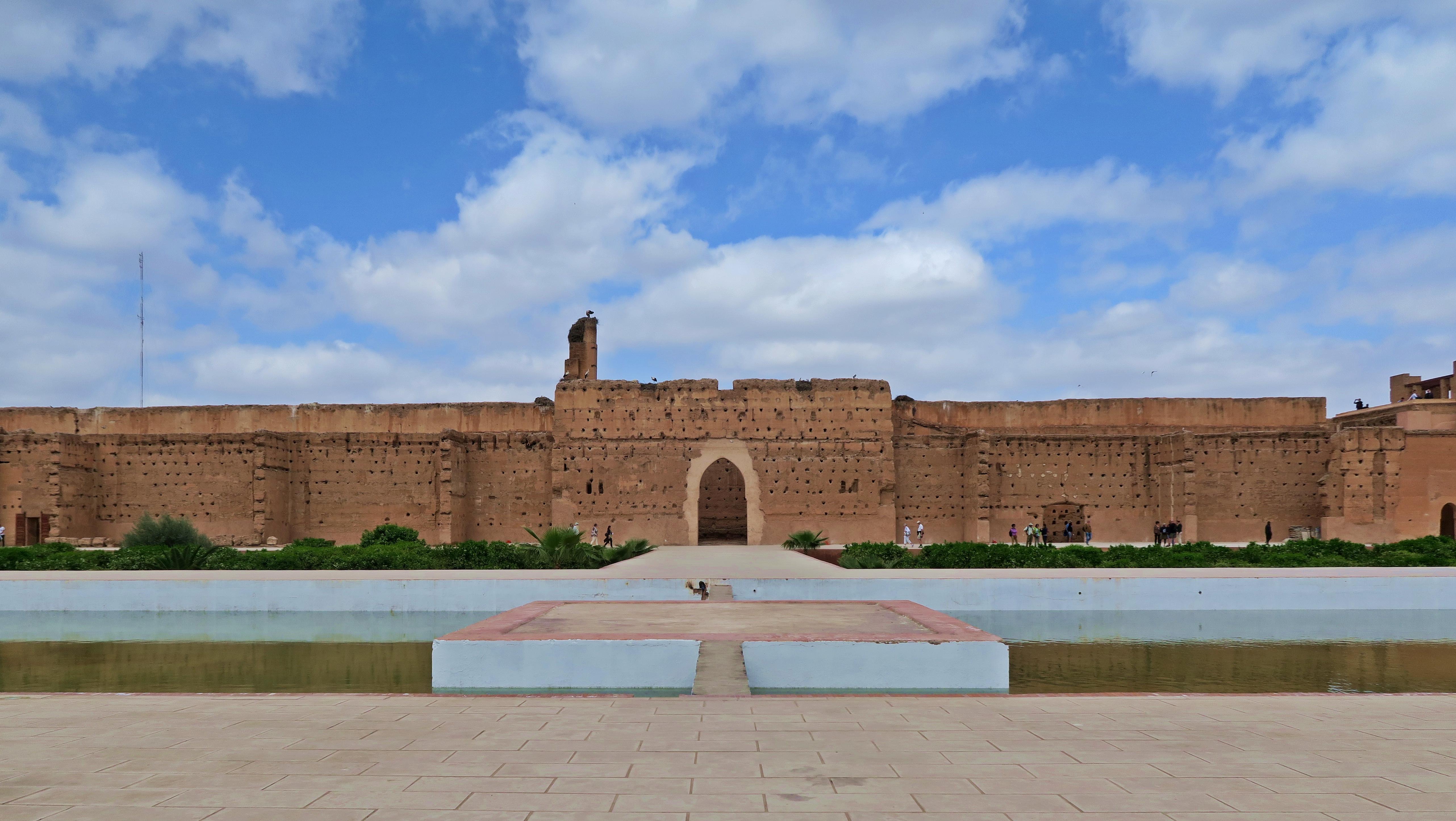 Marrakech El Badi Landscape