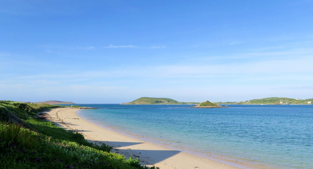 Tresco - Isles of Scilly - Beach View