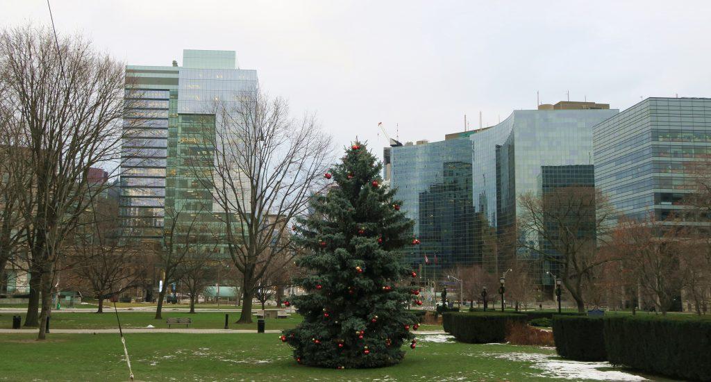 Toronto Christmas Skyline