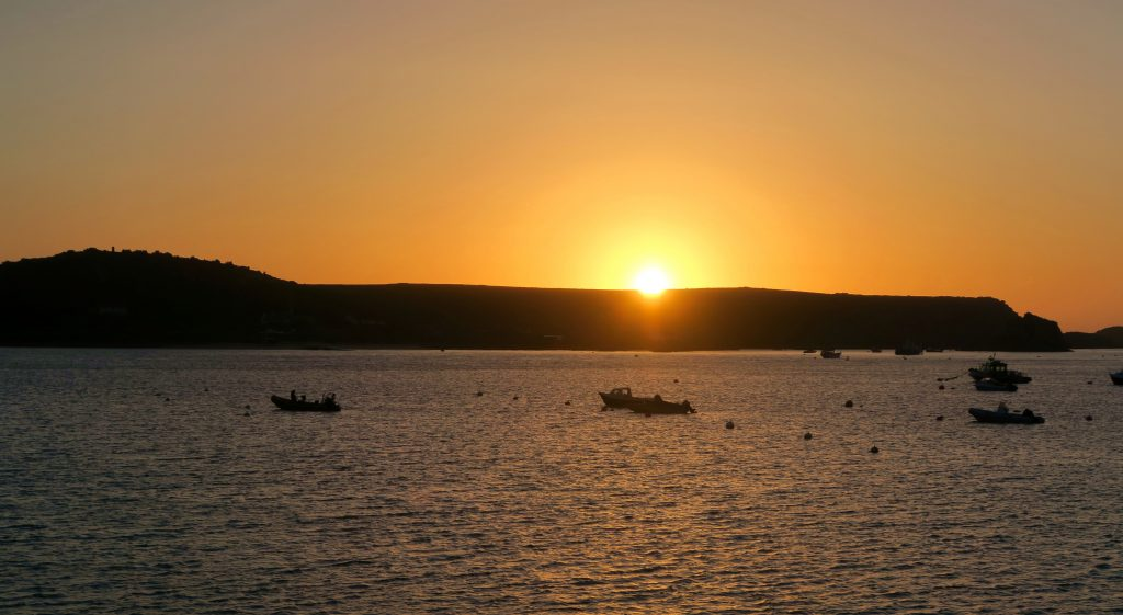 Tresco - Isles of Scilly - Sunset Orange