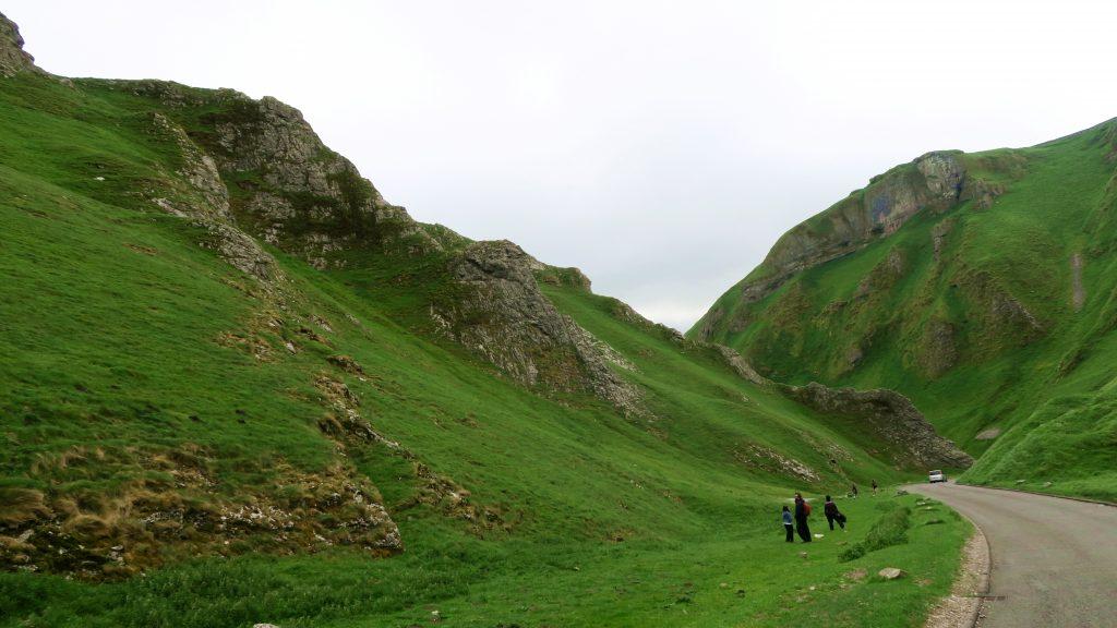 Peak District Winnatt's Pass