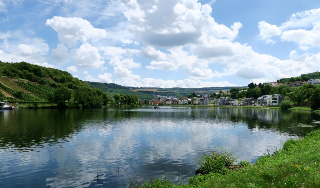 Moselle Valley View of River