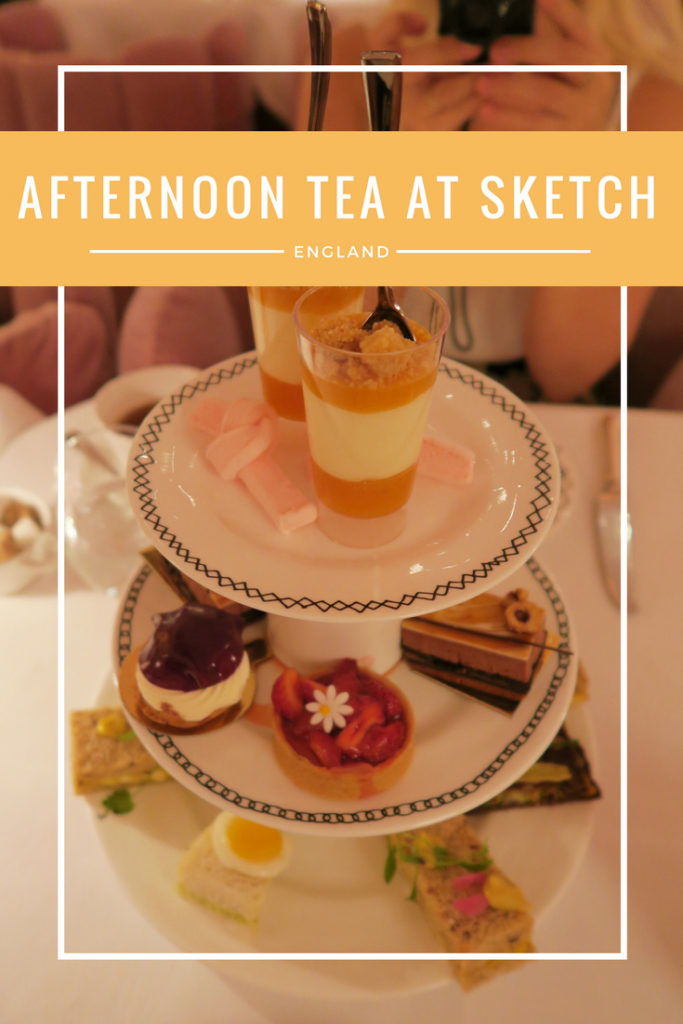 "If you're visiting London, Afternoon Tea should be at the top of your ""to-do"" list! Sketch is the perfect place for afternoon tea if you want a girly beautiful interior and great food!"
