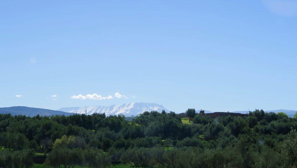 Atlas Mountain Scenery