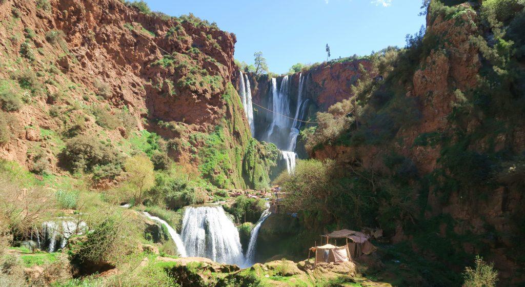 Ouzoud Waterfall Landscape
