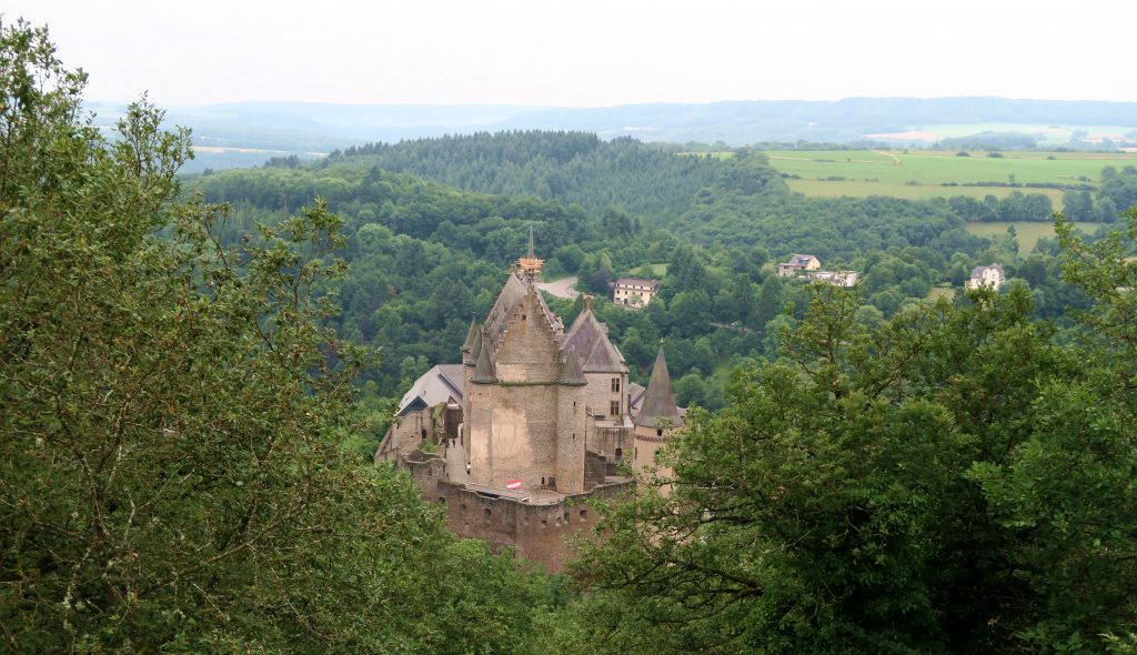 View of Vianden Castle