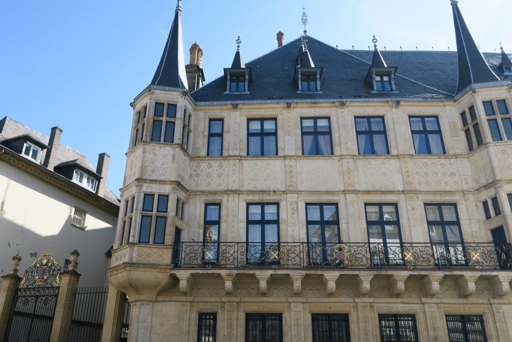 Luxembourg City Grand Palace