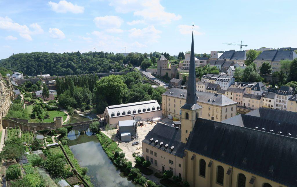 Luxembourg City Le Chemin De La Corniche View