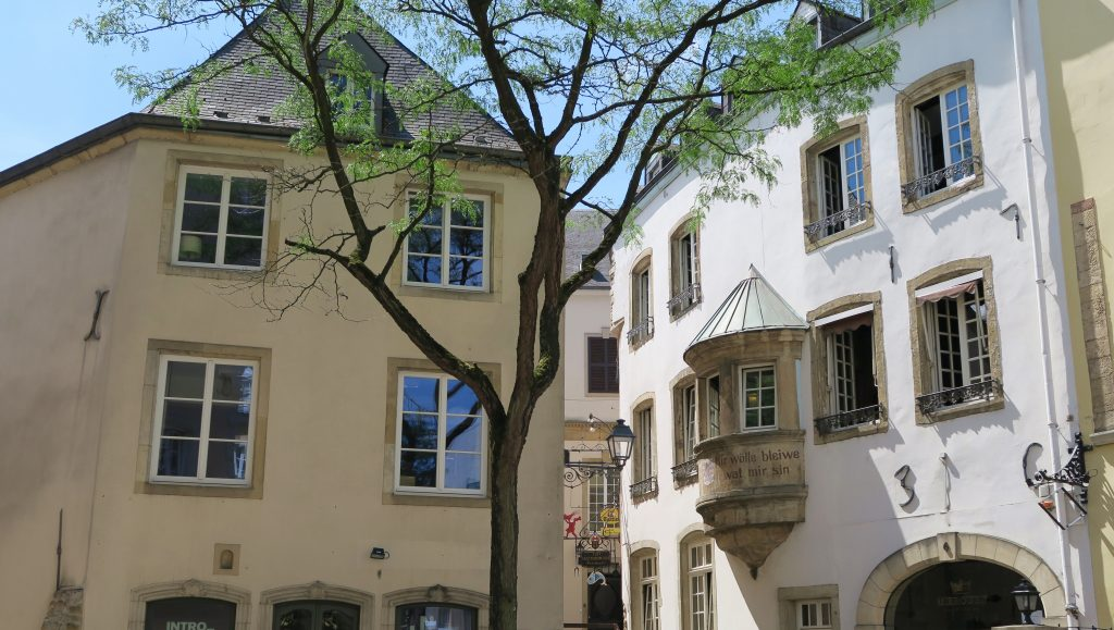 Luxembourg City Cute Streets