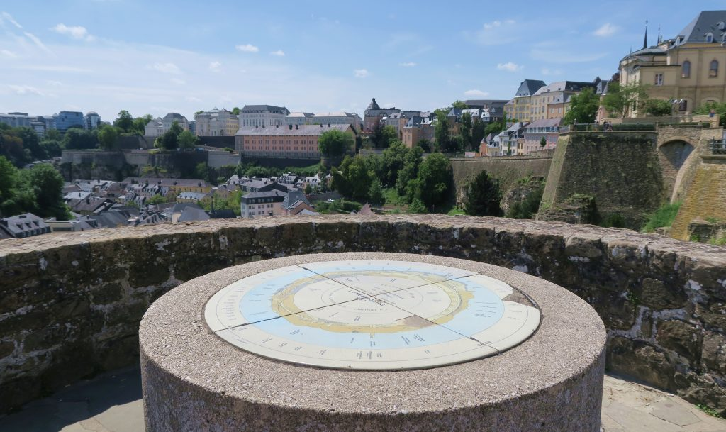 Luxembourg City Map