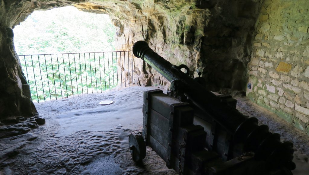 Luxembourg City Casmates du Bock Canon