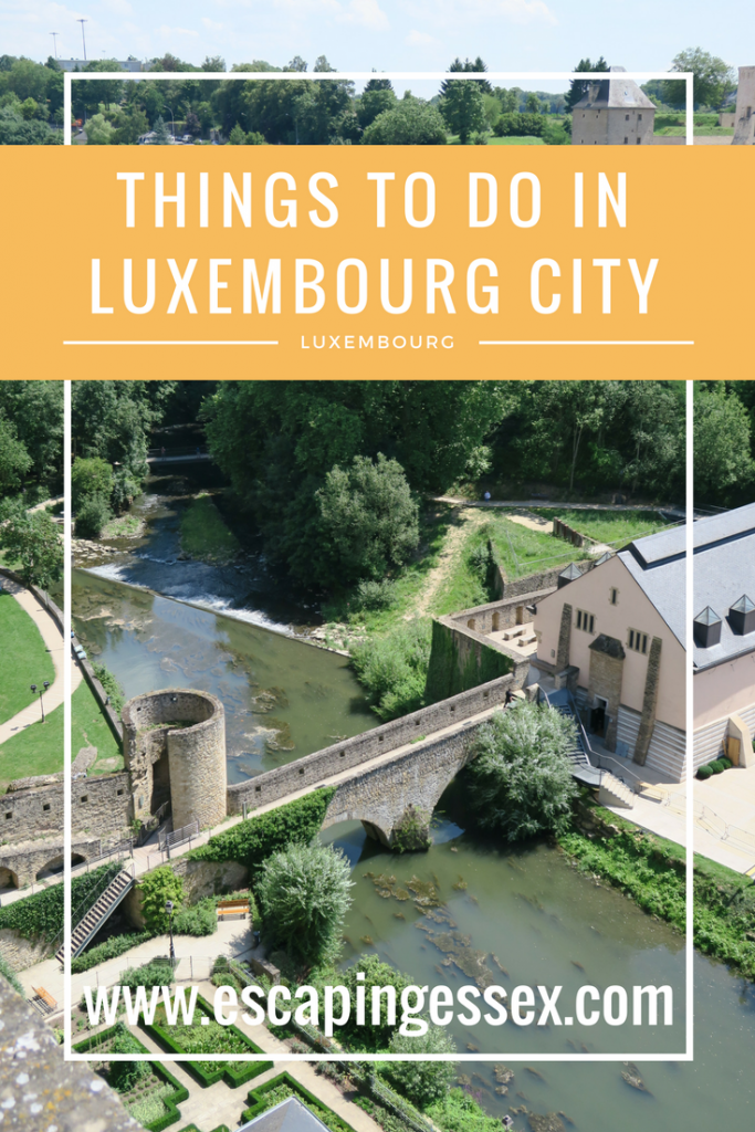 THINGS TO DO IN LUXEMBOURG CITY - If you've only got one day in the city, here's exactly how you should spend it!