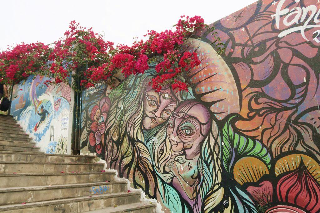 Lima Barranco Streetart
