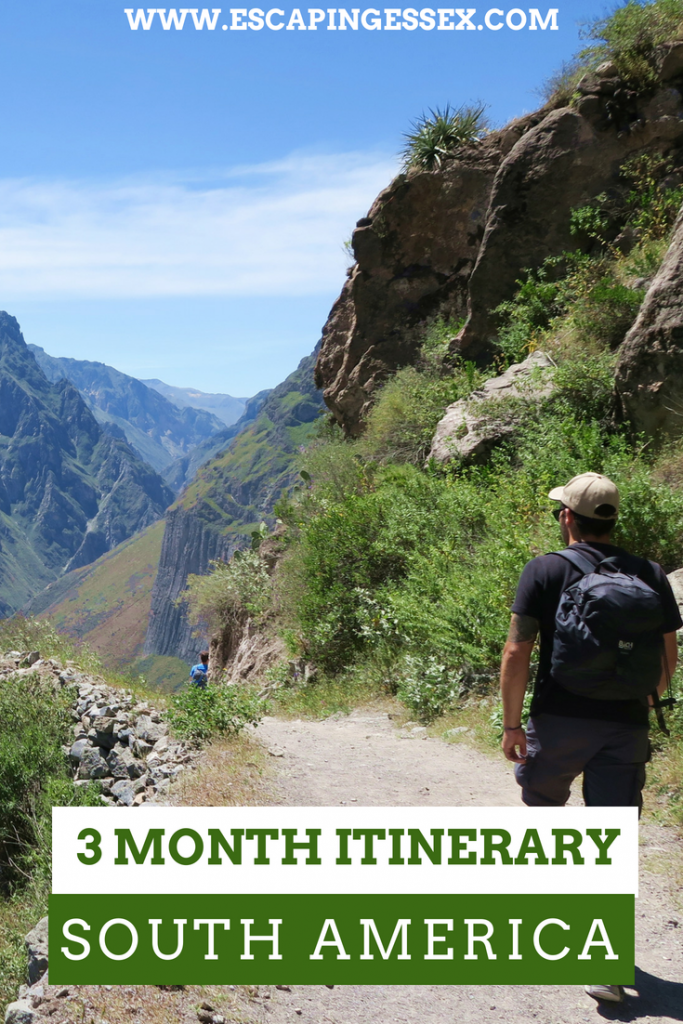 3 MONTH SOUTH AMERICA ITINERARY - From Chile to the Galapagos Islands and everywhere inbetween!