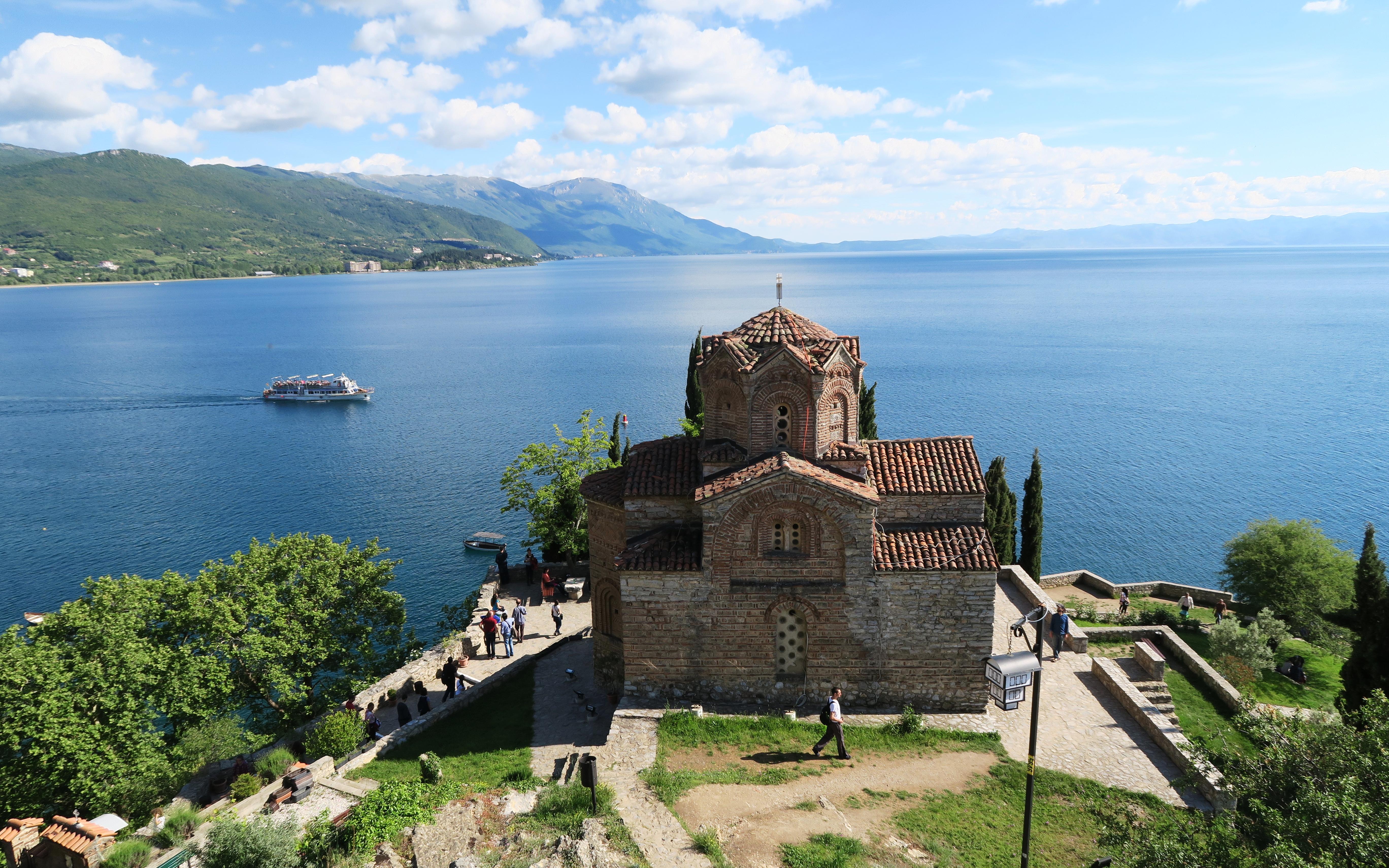 St Jovan Kaneo Ohrid Macedonia