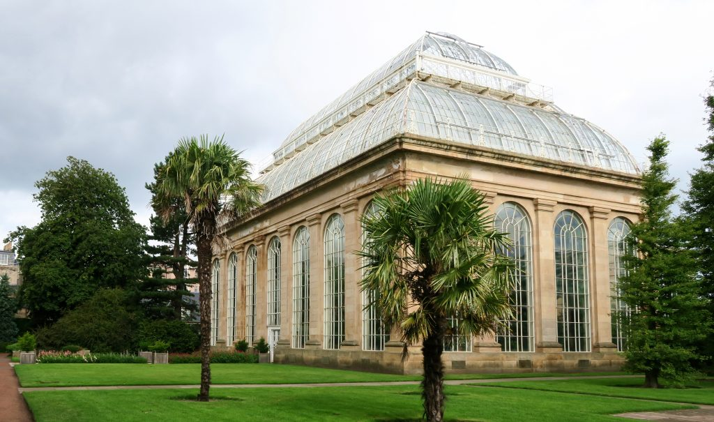 Greenhouse at Edinburgh Botanical Garden
