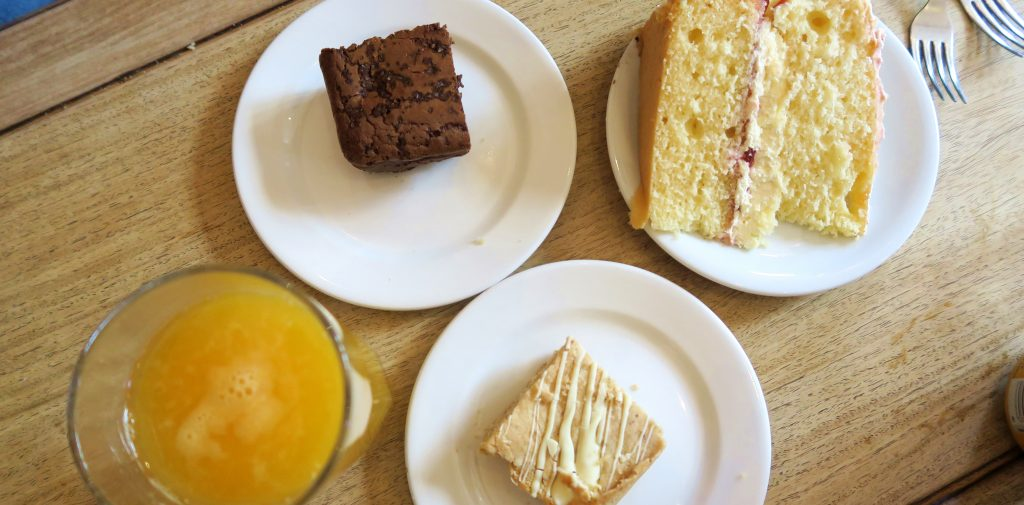 Cakes at Elephant Cafe, Edinburgh