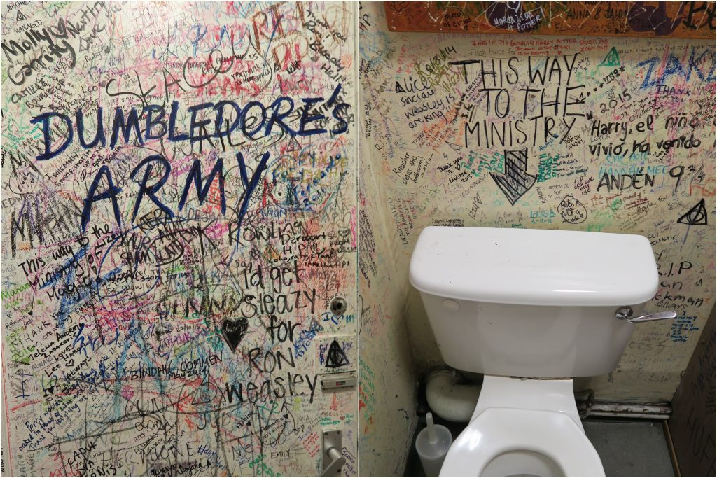 Messages Left By Harry Potter Fans In The Elephant Cafe Toilets, Edinburgh