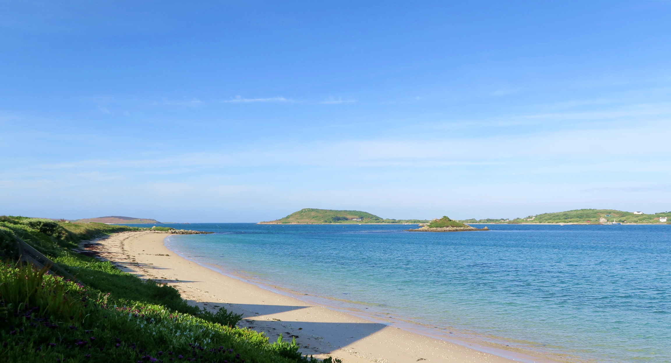 Isle Of Scilly Beach View