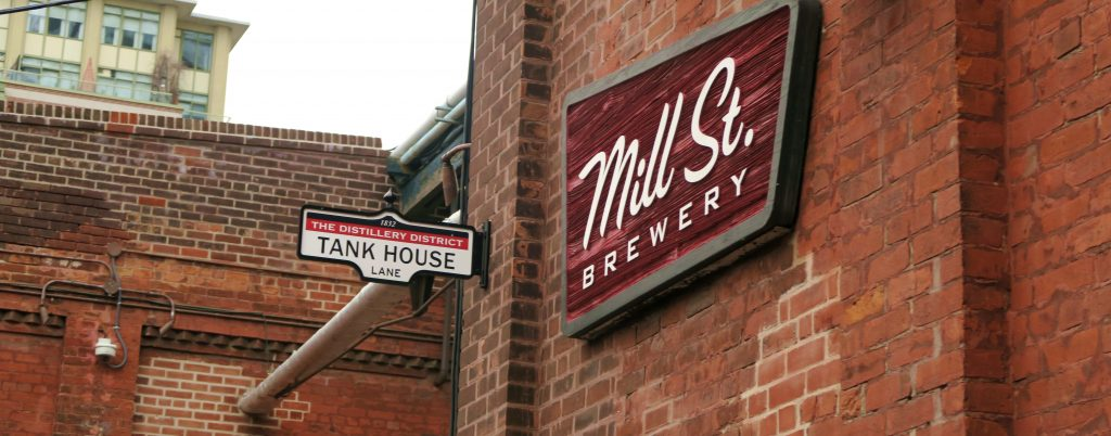 Toronto Brewery District Mill St