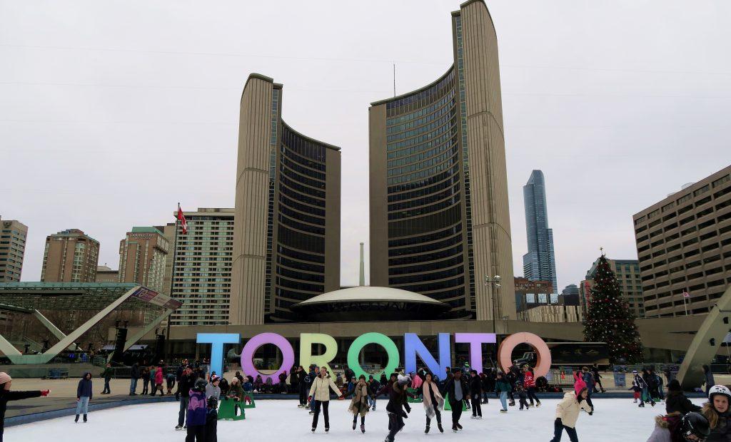 Toronto Sign Nathan Phillips Square