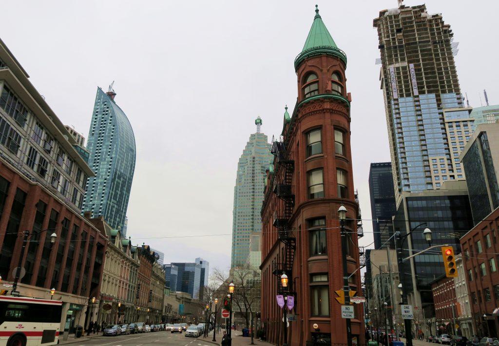 Toronto Flat Iron Building