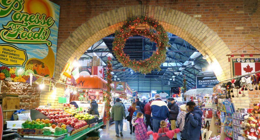 Toronto St Lawrence Market Christmas