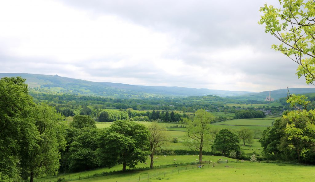 Peak District Landscape Scenery
