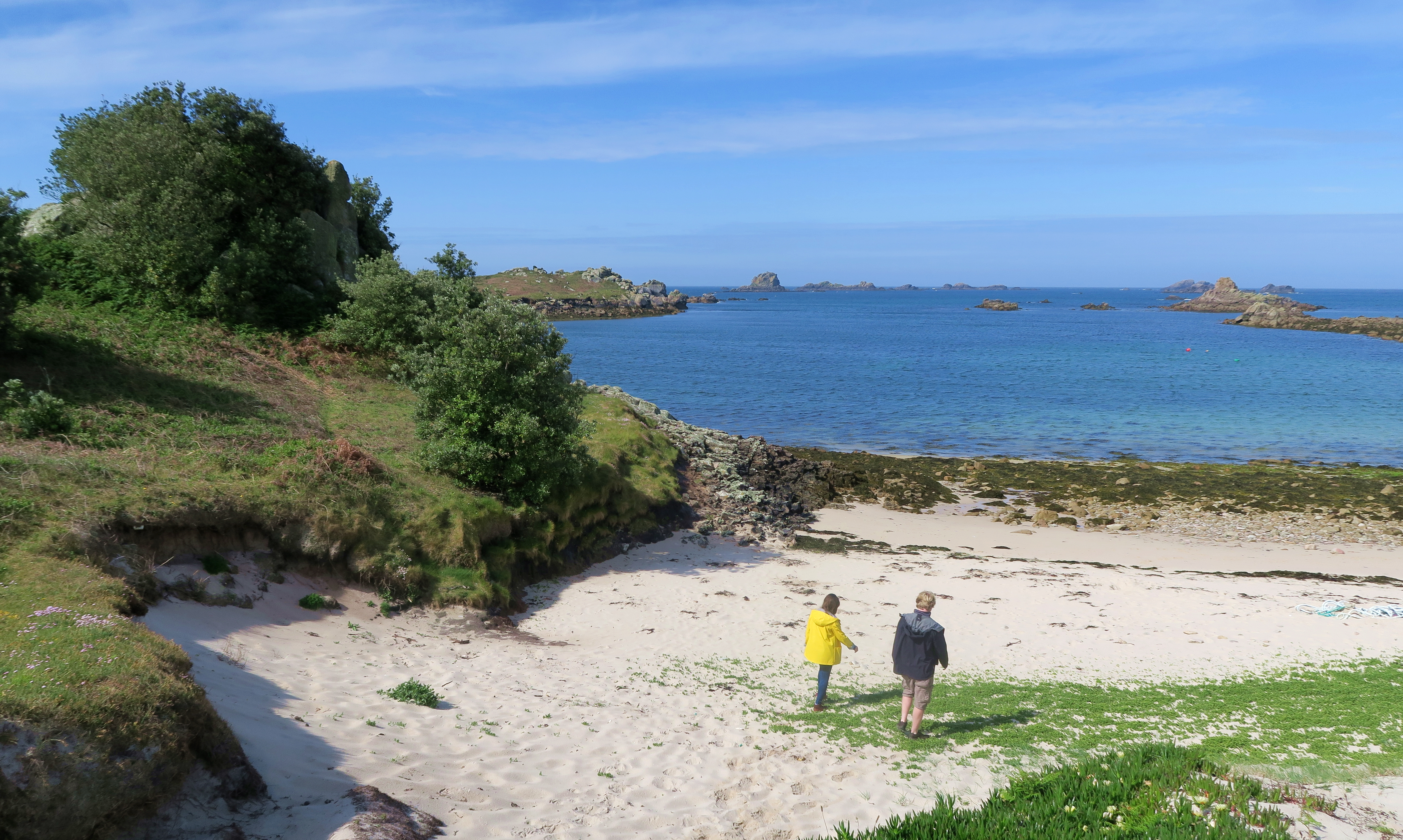 Isle Of Scilly Couple Beach