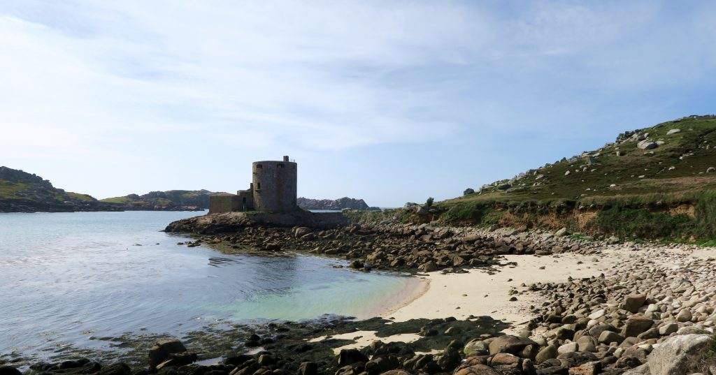 Tresco - Isles of Scilly - Cromwells Castle Beach