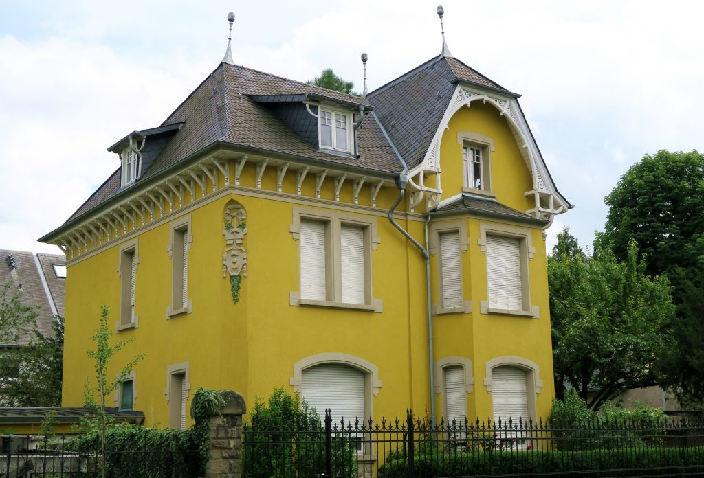 Luxembourg Yellow House