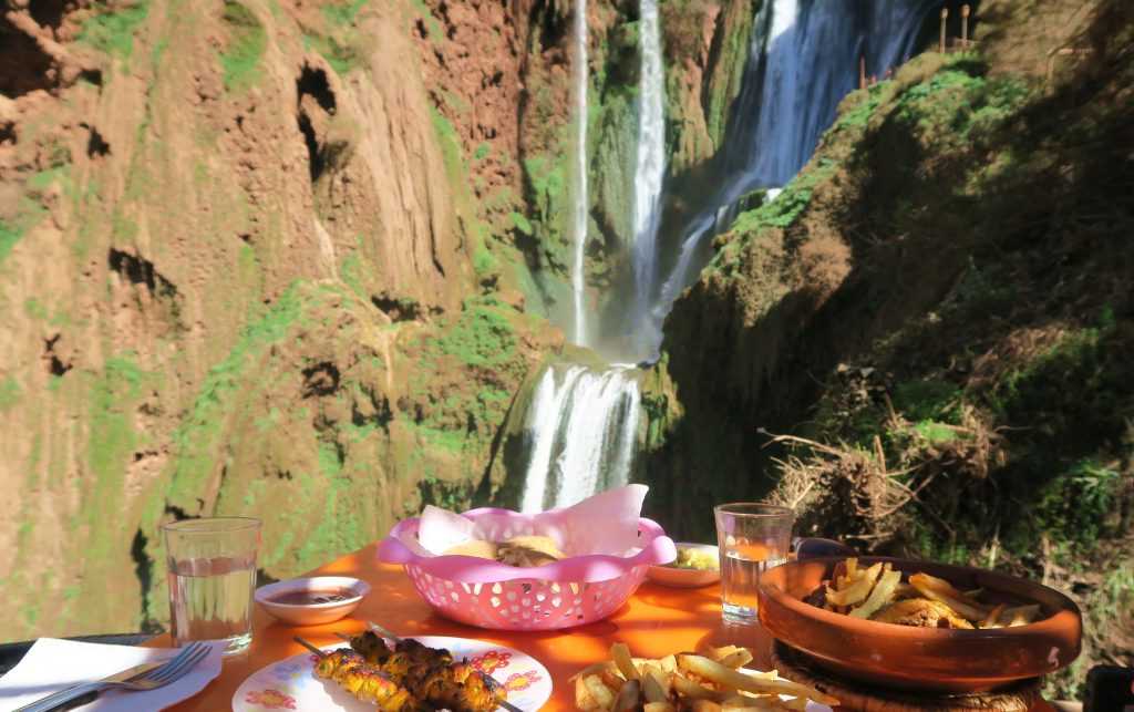 Ouzoud Waterfall Lunch