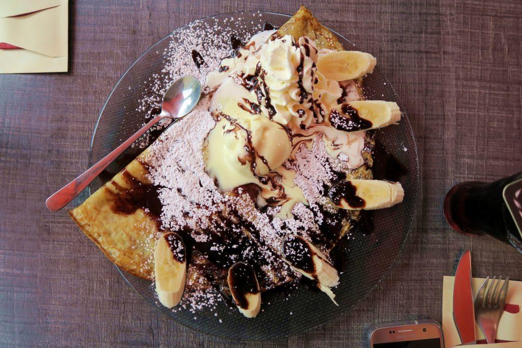 Banana Nutella Crepe