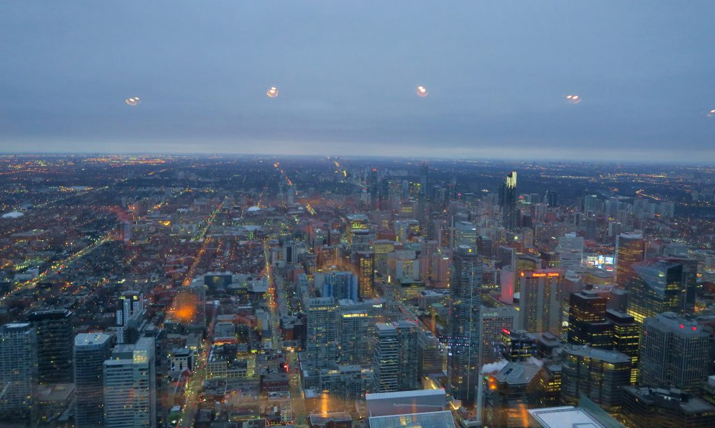 CN Tower View Sunset