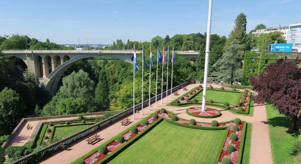 Luxembourg Place De La Constitition Gardens