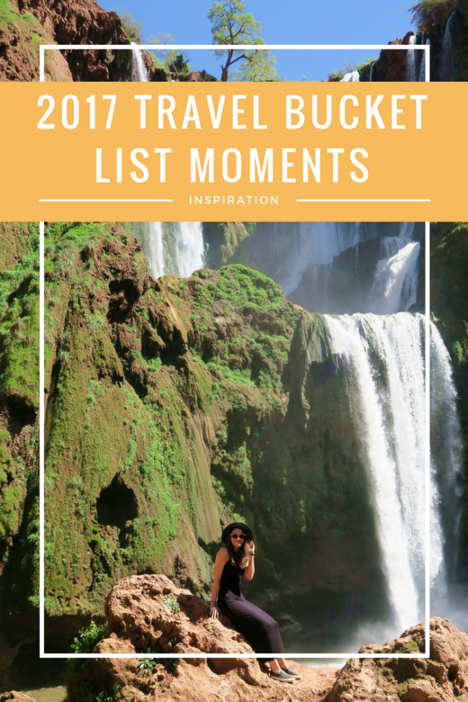 2017 TRAVEL BUCKET LIST MOMENTS - 2017 has been filled with some really great travel moments for me. What's it had in store for you? #UK #SouthAfrica #Luxembourg #Morocco #BucketList