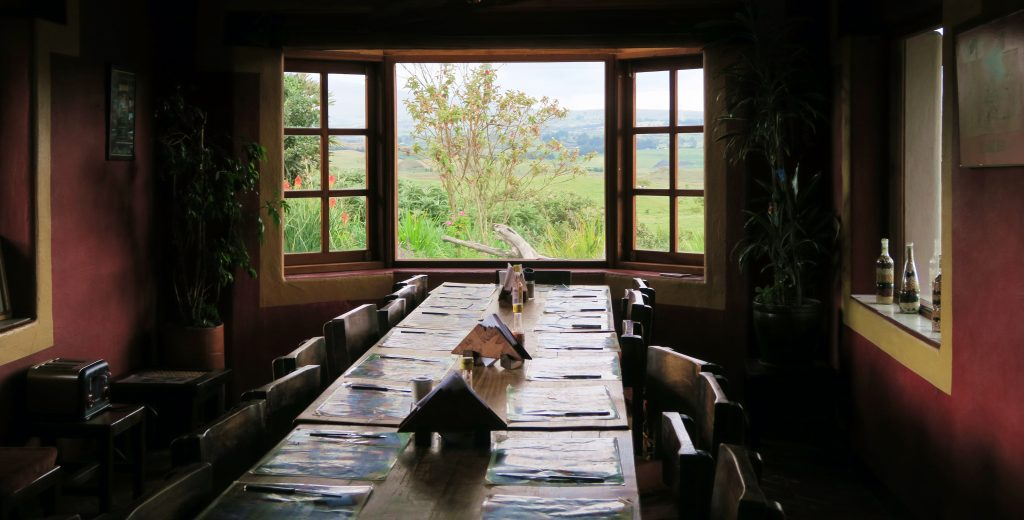 Secret Garden Cotopaxi Dining Room