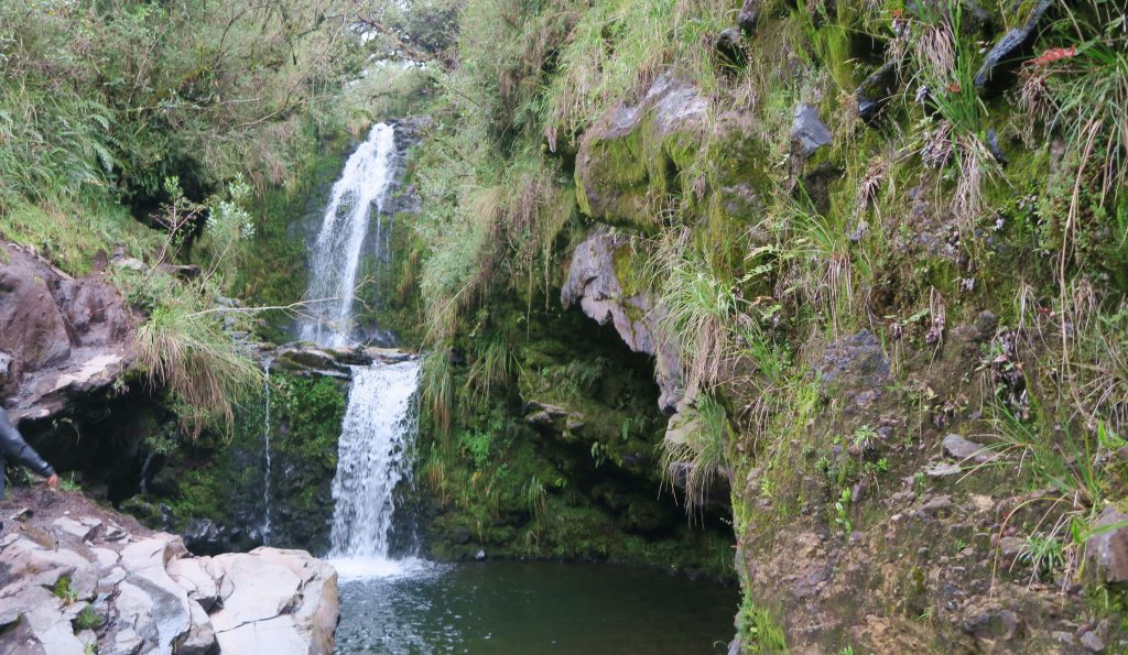 Cotopaxi Waterfalls
