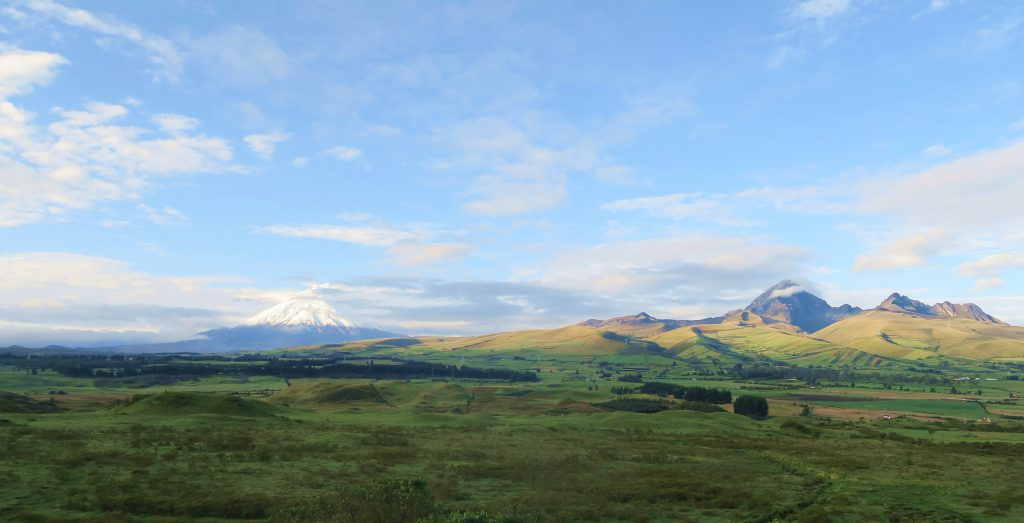 Volcano view from Secret Garden Cotopaxi