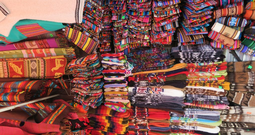 Market Stall in La Paz