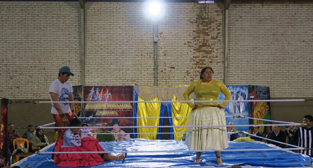 Bolivia La Paz Cholita Wrestling