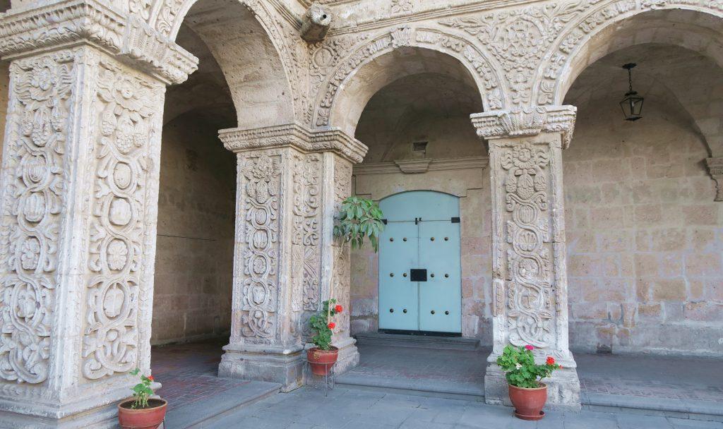 Arequipa Blue Door