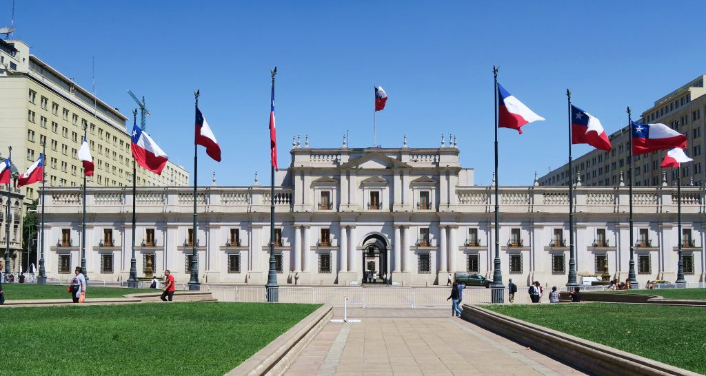 La Moneda Palace Santiago Chile