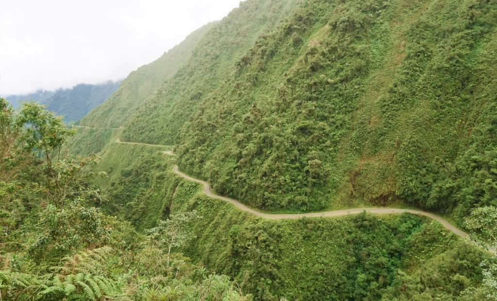 Gravity - Death Road, Bolivia - Narrow Path