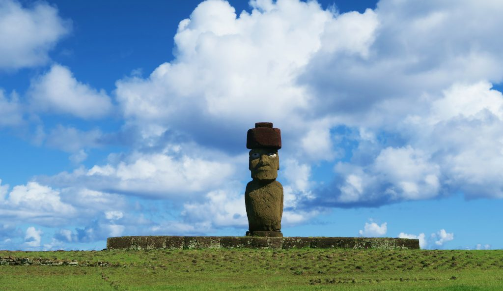 Easter Island Single Moai